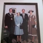 mayor of trafford queens silver jubilee